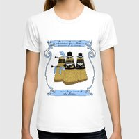 pride and prejudice T-shirts featuring Pride and Prejudice and Daleks by mikaelak
