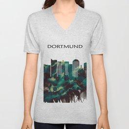 Dortmund Skyline Unisex V-Neck
