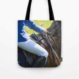 Horse Jumping I Tote Bag