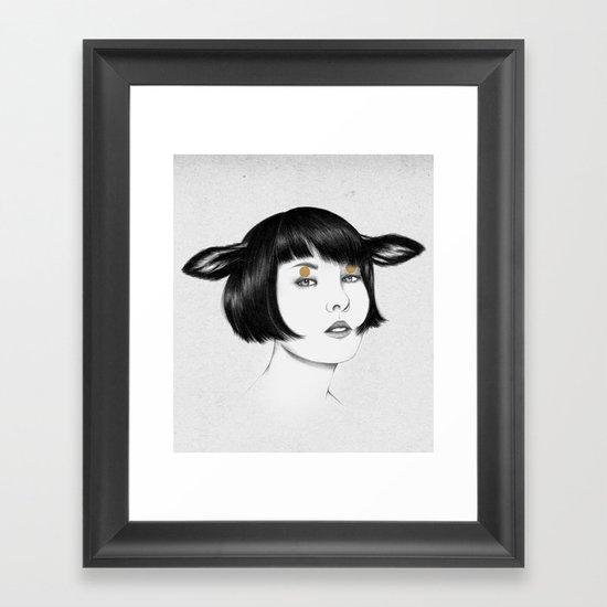 Cirque Framed Art Print