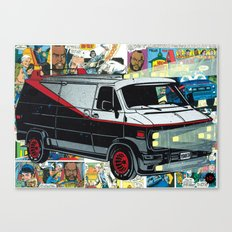 A-Team Vandura OG Canvas Print