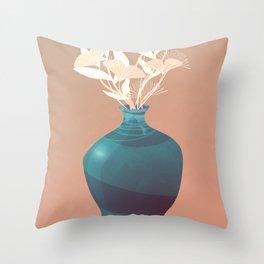 Summer Light Throw Pillow