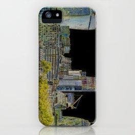 London glow iPhone Case