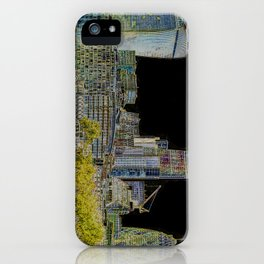London glow iPhone Case