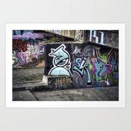 Ghetto Dystopia Art Print