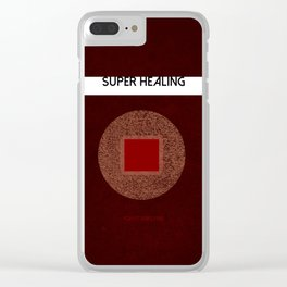 Super Healing Power Clear iPhone Case