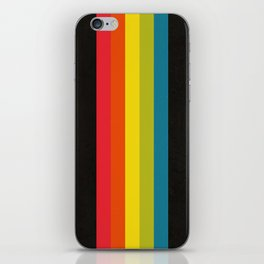 Retro Camera Color Palette iPhone Skin