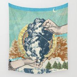 SMOKE GEOMETRY Wall Tapestry