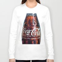 coca cola Long Sleeve T-shirts featuring The Real... by LesImagesdeJon