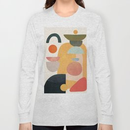 Modern Abstract Art 70 Long Sleeve T-shirt