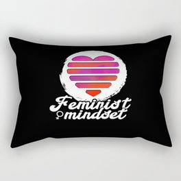 Feminist Art For Female Activists Gift Idea Rectangular Pillow