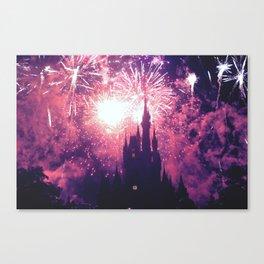 Dreaming world Disneyland Canvas Print