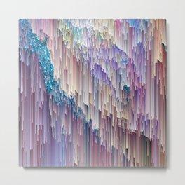 Dripping Rainbow Metal Print
