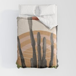 Cactus in the Desert #3 #tropical #wall #art #society6 Comforters