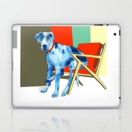 Great Dane in Chair #1 Laptop & iPad Skin