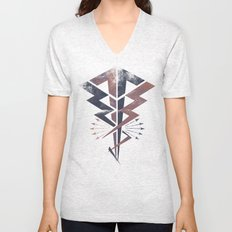 Lightning Bolt Unisex V-Neck