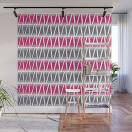 Tee Pee Pink Yarrow Wall Mural