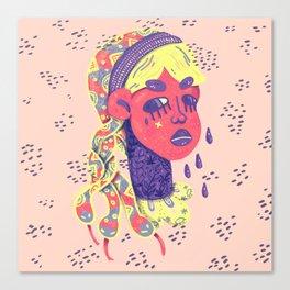 Angry medusa Canvas Print