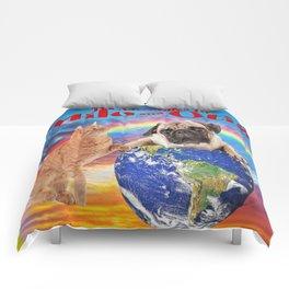 Milo And Otis Take On The World Comforters