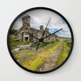 Cottage Ruin Wall Clock