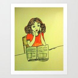 Studious  Art Print