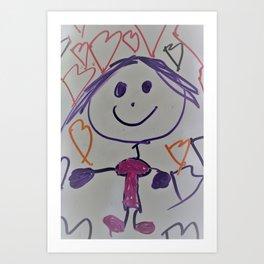 Gabberita Art Print