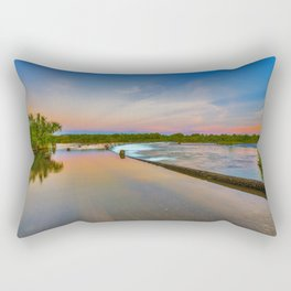 Colours of Ivanhoe Crossing Rectangular Pillow
