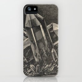 Antiquarian Crystals iPhone Case