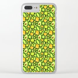Let's 'Avo Toast - Forest Clear iPhone Case