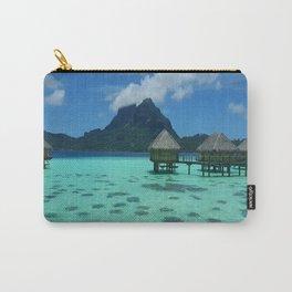 Bora Bora Bungalow Carry-All Pouch