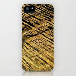 Madera abstracta iPhone Case