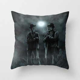 The Secret Summer of Babe Hardy Throw Pillow