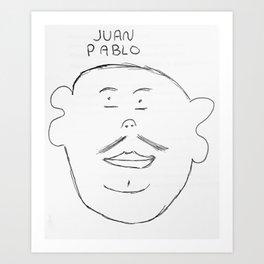Juan Pablo Art Print