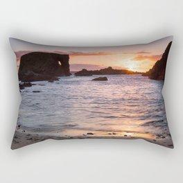 The Elephant Rock , County Antrim , Northern Ireland Rectangular Pillow