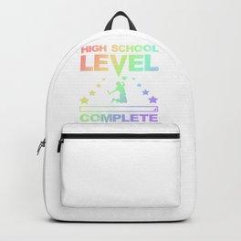 Gamer Fun High School Level Complete Graduation Backpack
