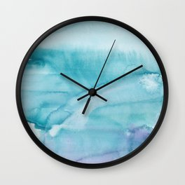 14   | Abstract Minimal Watercolor Painting | 191223 Wall Clock