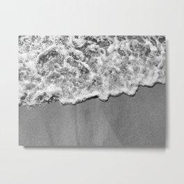 Byron Bay Wave Blanket Metal Print