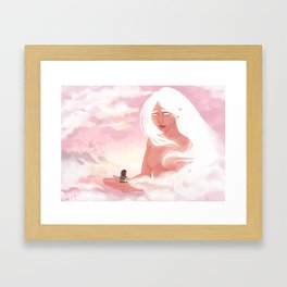 Guardian Angel Print Framed Art Print