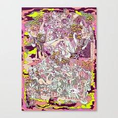 albino  Canvas Print