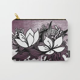 Flower Tangle Carry-All Pouch
