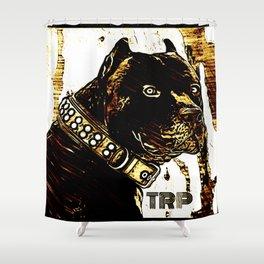 Pit Bull Models: Khan 03-01 Shower Curtain