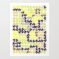 Menflower Art Print