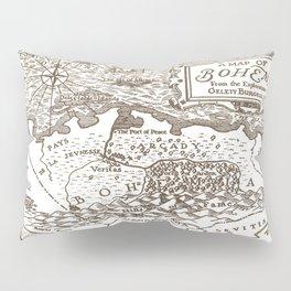 Map of Bohemia Pillow Sham