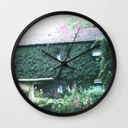 Wine maker house Wall Clock