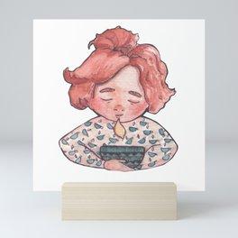 Tea lover Mini Art Print