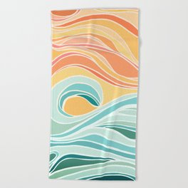 Sea and Sky II Beach Towel