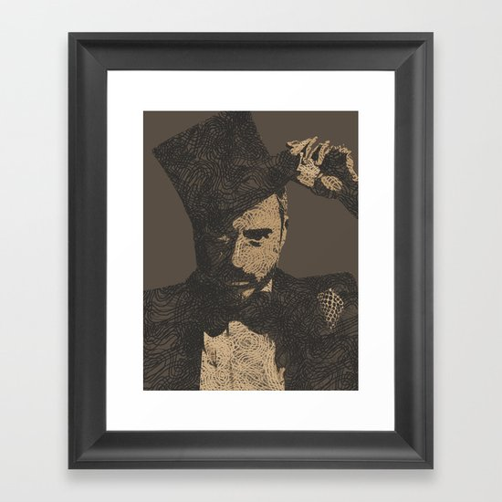 Mystery Unraveled  Framed Art Print