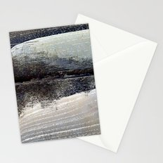 obliterated waveform Stationery Cards