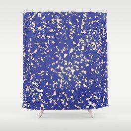 Paint Splash Speckle Terrazzo Shower Curtain