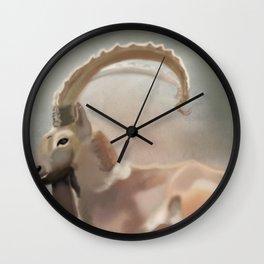 Long horn spirit  Wall Clock